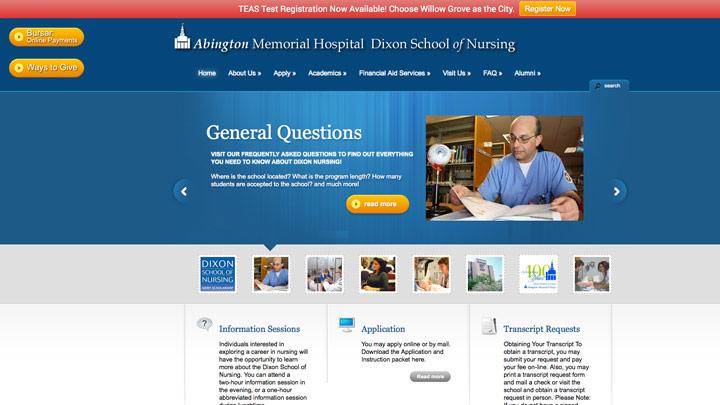 Abington Memorial Hospital Dixon School of Nursing