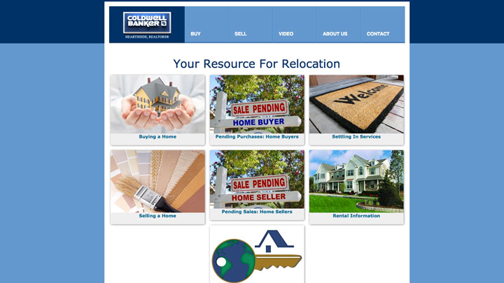 Coldwell Banker Hearthside, Realtors – Relocation Site